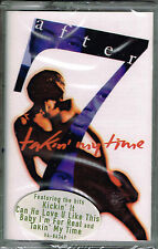 Takin' My Time by After 7 (Cassette) BRAND NEW FACTORY SEALED
