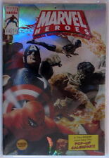 2008 Marvel Heroes Special Edition Pop-Up Full Size Wall Calendar MIP