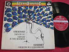 CLASSICAL LP - STRAVINSKY SYMPHONY IN C ANSERMET - LONDON BB FFSS STEREO CS 6190