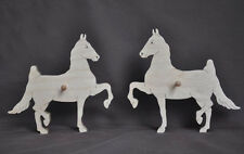 Saddleseat Saddlebred Horse Show Ribbon Wall Display Wooden Scroll Saw NEW