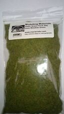 Static Grass 2mm Bulk Bag 50g - Meadow Green - Grass Flock First Class P&P