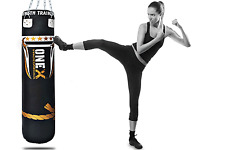 Girls Fitness Boxing Slim Punch Bag 5Ft Unfilled MMA Punching Bags With Chain