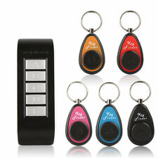 5 in 1 Remote Wireless Lost Key Wallet Finder Receiver 85DB Thing Alarm Locator