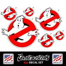 GHOSTBUSTERS Sticker Decal *6 Piece Set* Car, Bumper, Wall, Indoor Outdoor, 3M