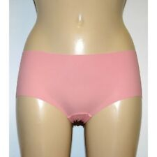 M & S Size 12 NO VPL Laser Cut Low Rise Shorts panties Briefs Pink RRP £6.00