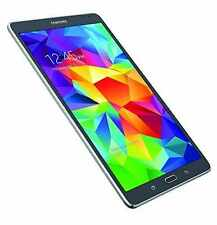 "Samsung Galaxy Tab S SM-T707A 8.4"" Wi‑Fi 4G GSM Unlocked 16 GB Gray NEW"