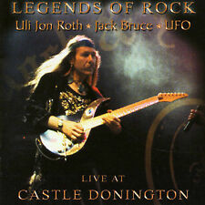 Legends of Rock: Live at Castle Donnington by Uli Jon Roth -CD- Jack Bruce - UFO