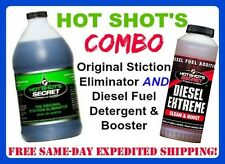 HOT SHOTS COMBO Original Stiction Eliminator & Diesel Extreme Booster 64oz/32oz