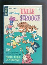 Uncle Scrooge #80 VG+Strobl Mayer Donald Duck Gyro Gearloose Super Bright
