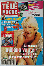 Télé Poche 21/09/1998; Interview Ophélie Winter/ Bette Davis/ Erika Eleniak