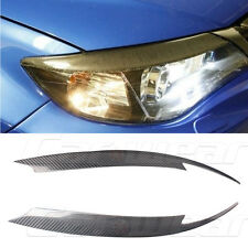 Carbon Fiber Front Headlight Cover Eyelid Eyebrow for Subaru Impreza 10th 08-11