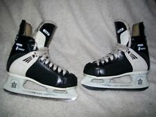 CCM TACKS 152 ICE HOCKEY SKATES MEN'S SIZE 8 ? NICE SHAPE TOP QUALITY ICE SKATES