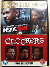 Denzel Washington INSIDE JOB MAN/CLOCKERS Spike Lee Suspense Double Bill GB DVD