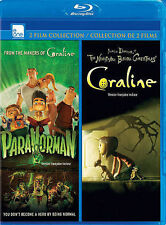 Paranorman & Coraline Blu-ray 2 film Collection