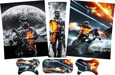Battlefield 4 Xbox 360 Skins Vinyl Stickers Console Pads Controllers