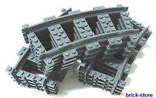 LEGO Trains 12x gebogne Rails (3677,7897,7898, 7938,7939,60051,60052)