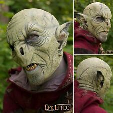 High Quality Latex Feral Orc Mask. Perfect For Costume, Stage & LARP