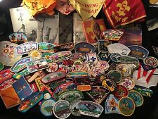 Boy Scout Patch Box Lot.... As Received! Huge item count with value. (Box P4)