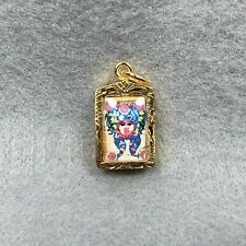 Magic Butterfly back Picture Phra Kruba Krissana Thai Amulet Talisman Pendant #