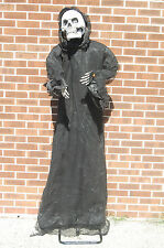 NIB 6 FT Animated Reaper Scary Halloween Decoration M3842