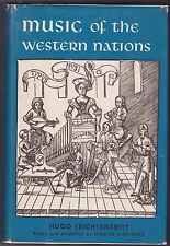 MUSIC OF THE WESTERN NATIONS. By Hugo Leichtentritt- MUSIC HISTORY