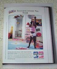 2005 ad page clipping - Huggies baby Pull-Ups Diaper pants Little girl ADVERT