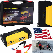 12V 68800mAh Portable Car Jump Starter Pack Booster Charger Battery&Power Bank H