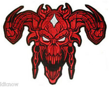 DEVIL (RED) LARGE BACK PATCH 12 1/4 x 9 3/4 inch (31cm x 25cm) Sew on
