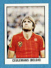 CALCIO FLASH 1981-82 Lampo Figurina-Sticker n. 202 - CEULEMANS - BELGIO -New