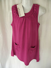 BNWT Myer Milkshake Brand Girls Sz 3 Pretty Pink/Ruffle Sleeveless Summer Dress