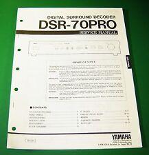 Original Yamaha DSR-70PRO Service Manual
