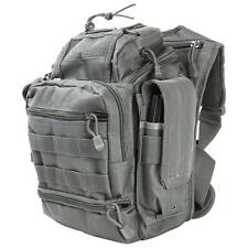 First Responder Tactical Utility Bag EDC Pack Survival Shoulder Go Bag Black.