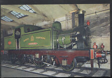 "Railways Postcard - The ""Aerolite"" Locomotive, Railway Museum, York  RR1446"