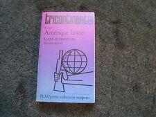 Tricontinental II, 1981: Amérique Latine luttes et mutations .Maspero