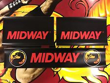 Mortal Kombat 1 Arcade Control Panel Box Art Artwork Overlay MK1 CPO Midway