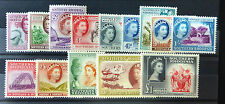 SOUTHERN RHODESIA 1953 Complete to £1 SG78-91 U/M MNH SEE BELOW FP6687