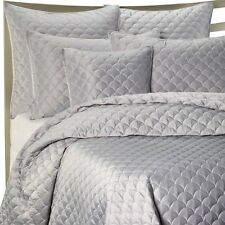 NEW $180 Barbara Barry® Crescent Moon King Quilt in Lagoon
