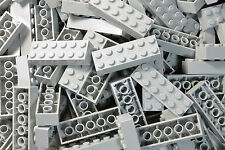 New Lego Lot OF 50 LIGHT GRAY 2x6 Bricks 2456 STAR WARS MINECRAFT NINJAGO