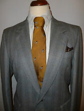 MENS DUNN & CO  PURE WOOL   SUIT  -  SIZE 40R  BRITISH MADE