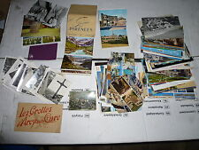 Lot de cartes postales dépliants photos photographies anciennes CP