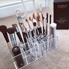GL WOW Brushtidy Acrylic Makeup Organiser Storage Gift ladies Brush Holder