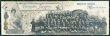 Livorno Cecina Fanteria Brigata Regina Savoia Doppia Foto cartolina QT7826