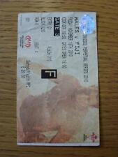 19/11/2010 Rugby Union Ticket: Wales v Fiji [At Millennium Stadium Cardiff] (fol