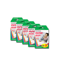 Fuji Instax Mini 70 25 50s 7s 8 90 SP1 Instant Film (Twin Pack) 100 images 09/17