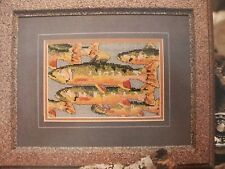Rainbow Trout Fish OOP Magazine Cross Stitch PATTERN (S)