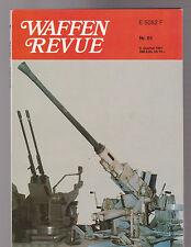 Waffen Revue Nr.81 II.Quartal 1991 Inhalt siehe Bild