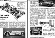 Allard 1949 - 1949 Allard New Sports Two-Seater Allard - Reprint from Autocar