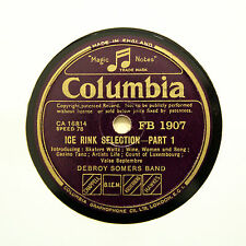 """DEBROY SOMERS BAND """"Ice Rink Selection"""" (E+) COLUMBIA FB-1907 [78 RPM]"""