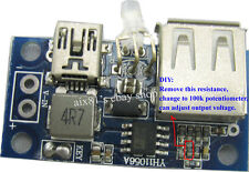 DC-DC Boost Converter 2.6V-5.5V to 5V 3A Step Up Power Module USB Mobile Charger