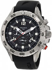 Men's Nautica NST Black Chronograph Watch N14536G